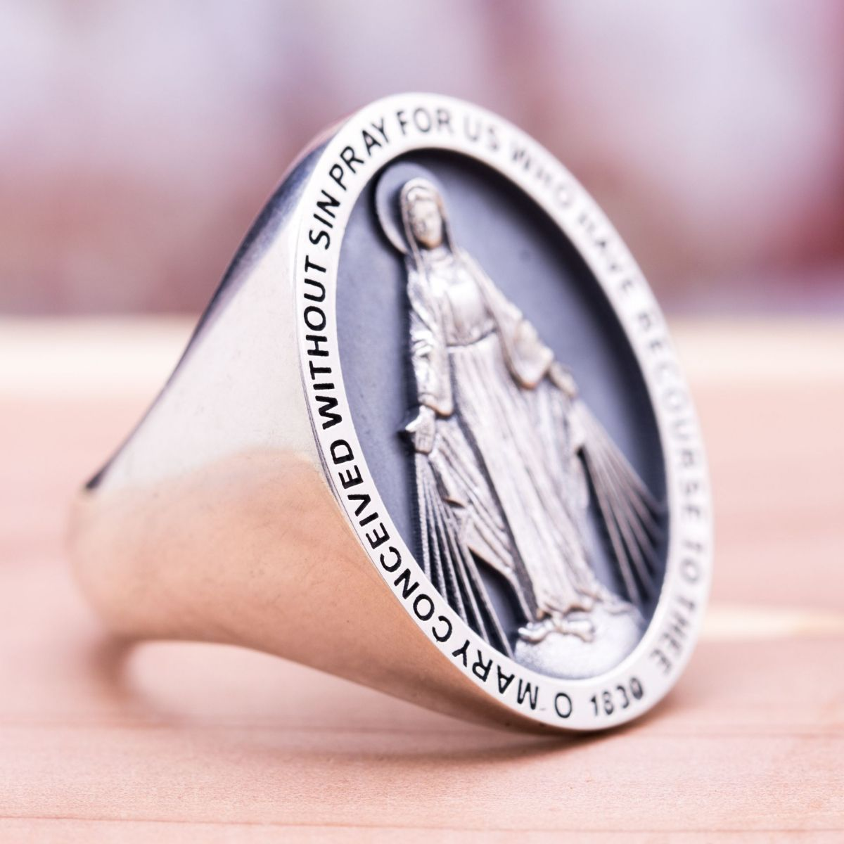 Custom Religious Rings Design Your Own Bishops Ring Custommade