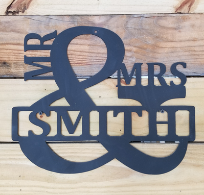 Custom Made Mr & Mrs