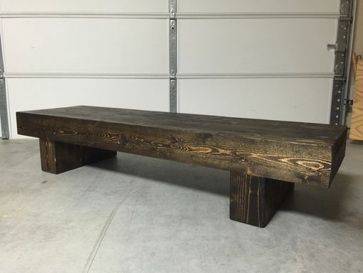 Custom Made Beam Bench