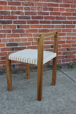 Custom Made Elm Side Chair - Prototype