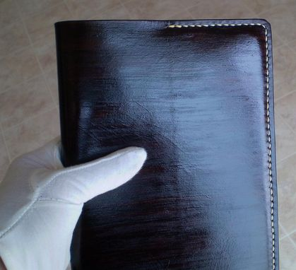 Custom Made Top Grain Leather Journal W/ Acid Free Lined Paper