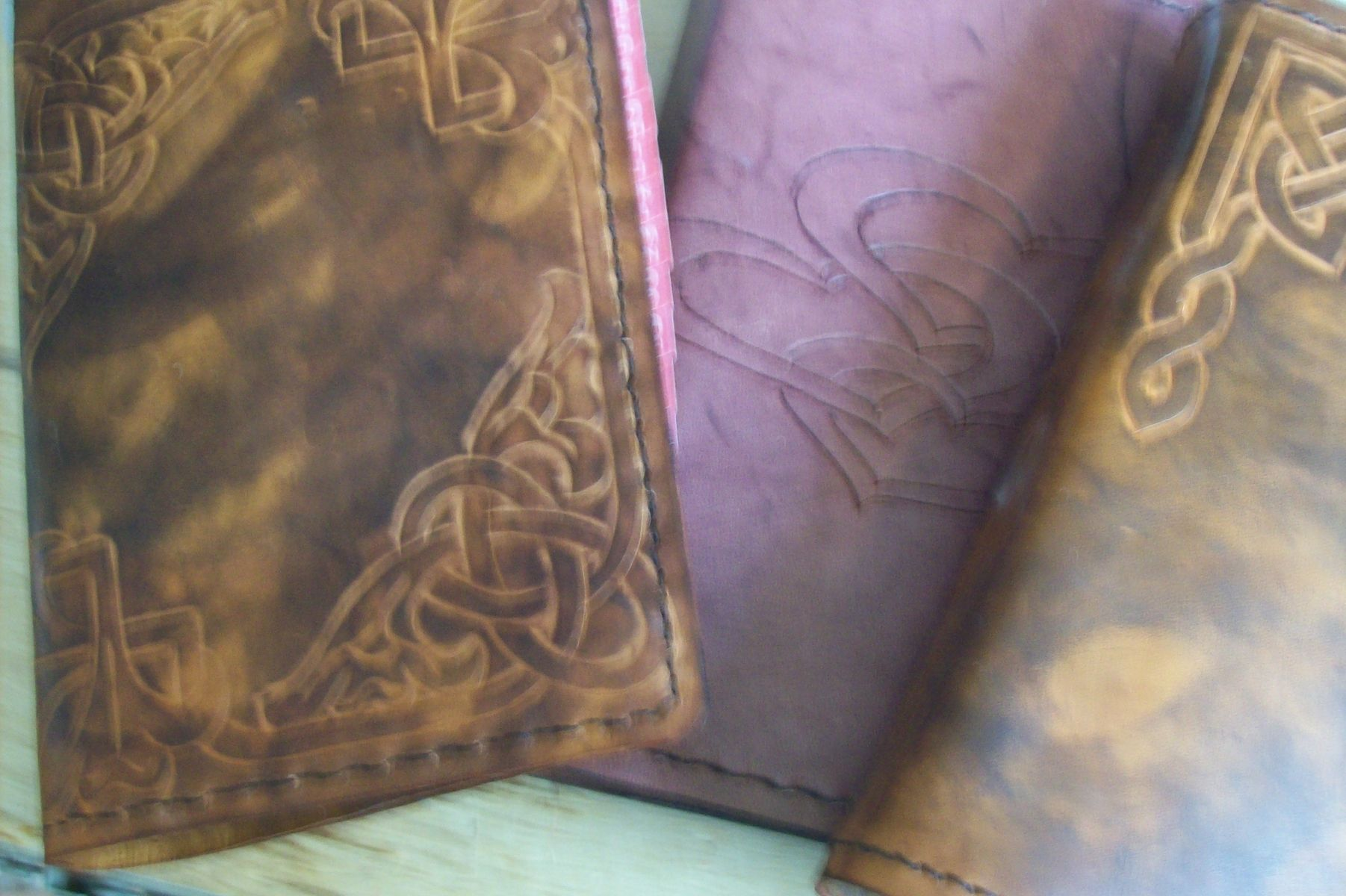 buy hand made custom leather address books made to order from