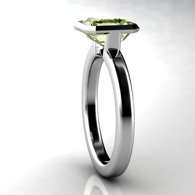 Custom Made Custom Engagement Ring And Wedding Band