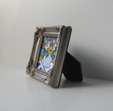 Custom Made Acrylic Miniature Still Life Painting, Original Ink