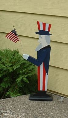 Custom Made Flag Bunting & Uncle Sam