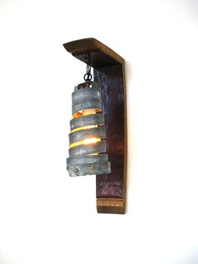 Custom Made Tuscan Collection - Classic - Wine Barrel Wall Sconce