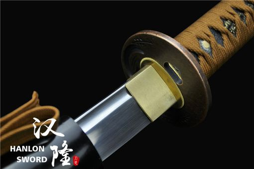 Custom Made Handmade Traditional Japanese Samurai Sword Full Tang Folded Steel Katana
