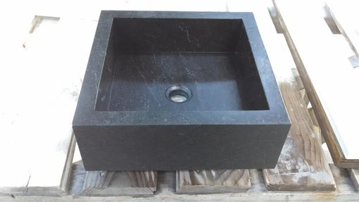 Custom Made Square Vanity Vessel Sink