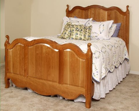 Custom Made Cherry French Provincial Bed
