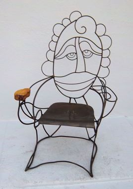 Custom Made Sculptural Chair - Pearl 2008
