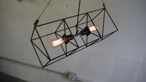Custom Made Box Kite Suspension Light.