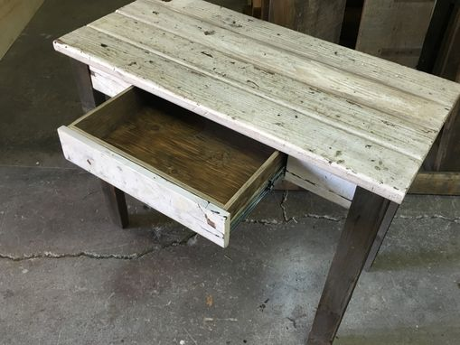 Custom Made Reclaimed Wood Rustic Vanity