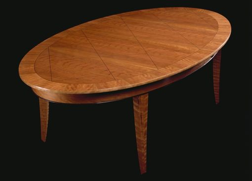Custom Made Expanding Ellipse Table