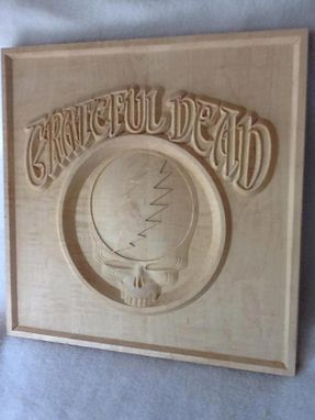 Custom Made Grateful Dead Plaque