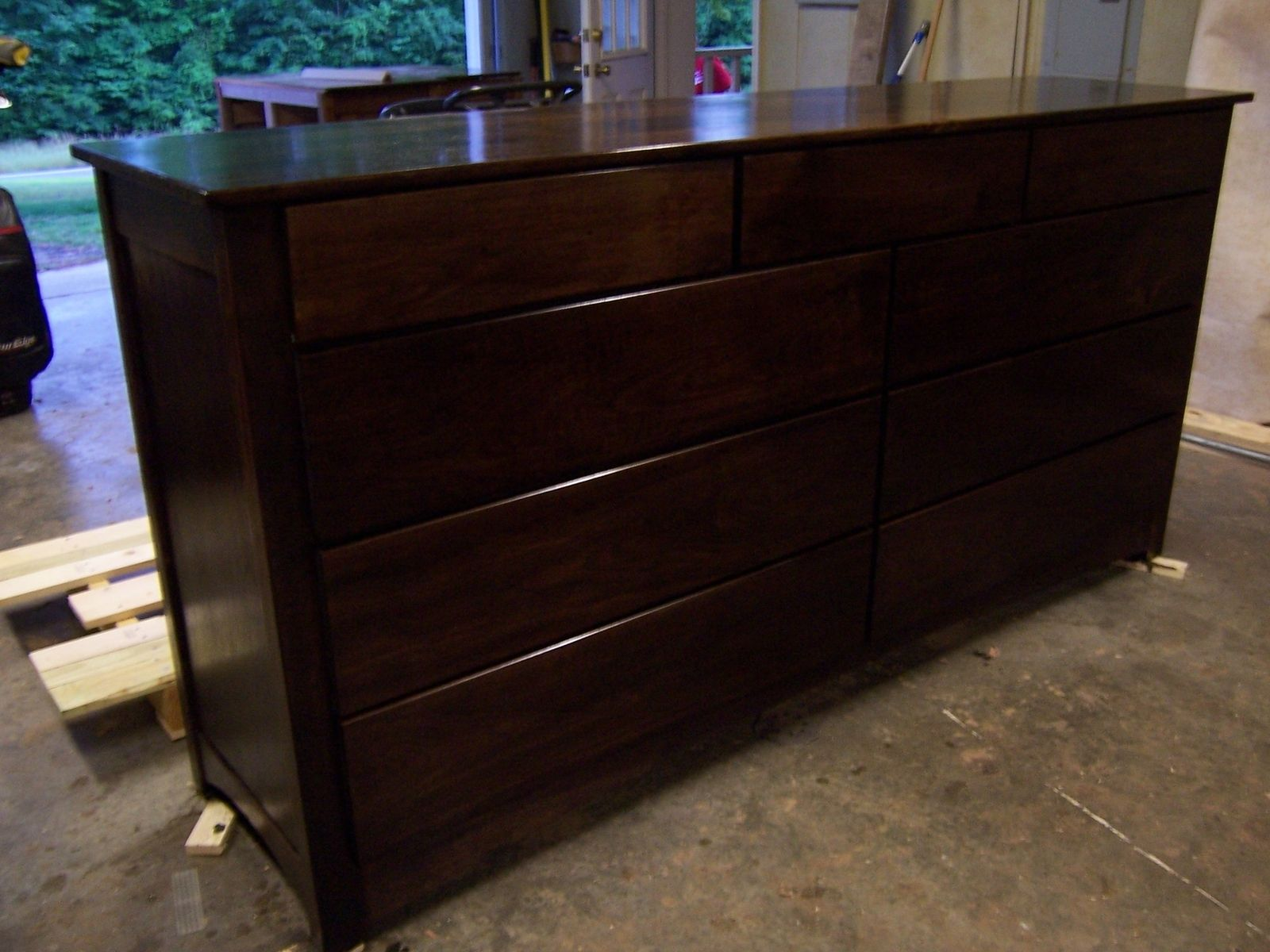 Handmade Black Walnut Dresser By Bungalow White Oak