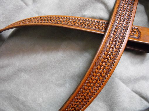 Custom Made Arrowhead Basket Belt