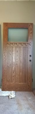 Custom Made Craftsman Entry Door