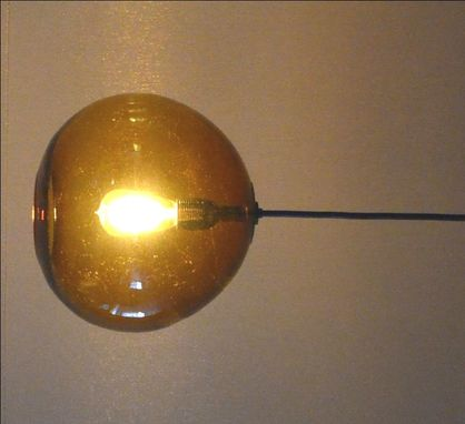 Custom Made Custom Colored Globe Fixture