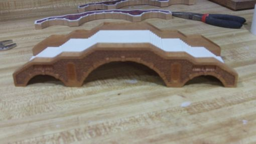 Custom Made Miniature Bridge Replica