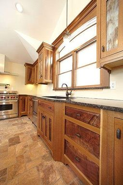 Custom Made Arts And Crafts Style Custom Kitchen