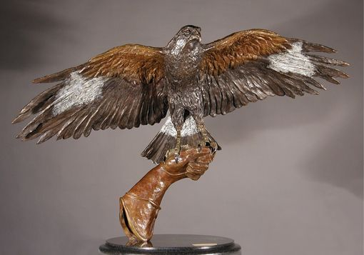 Custom Made Bronze Bird Sculpture