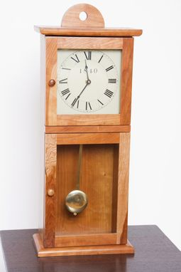 Custom Made Shaker Table Clock