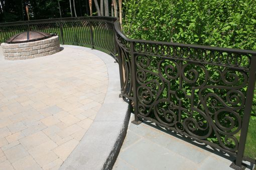Custom Made Patio Railing