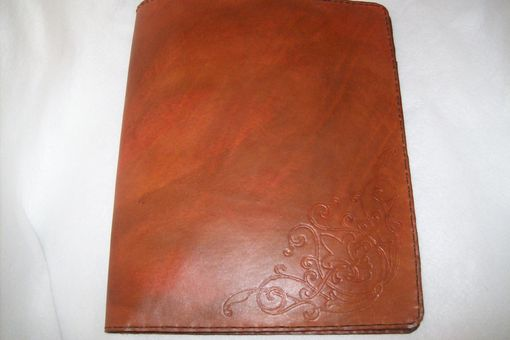 Custom Made Custom Leather Portfolio/Padfolio