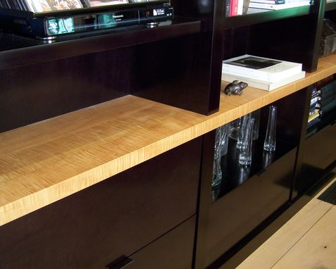 Custom Made Contemporary Wall Unit