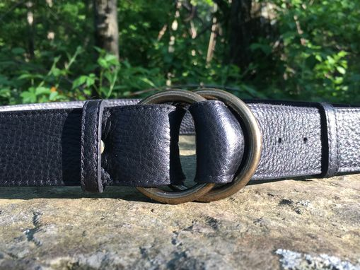Custom Made Project Transaction Leather Vintage Style Wrap Belt
