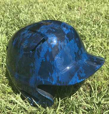 Custom Made Hydro-Dipped Sports Equipment