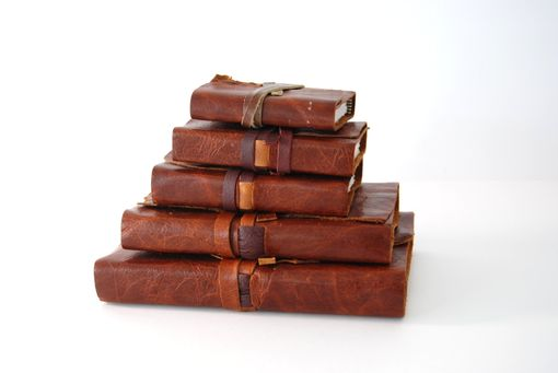 Custom Made Custom Handmade Leather Bound Mexican Adventure Collection Set