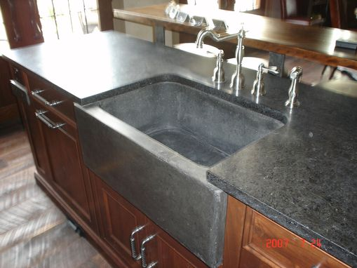 Custom Made Farm Sink And Slab