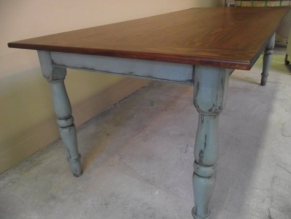Hand Crafted Custom Made Farm Style Table Choices Of