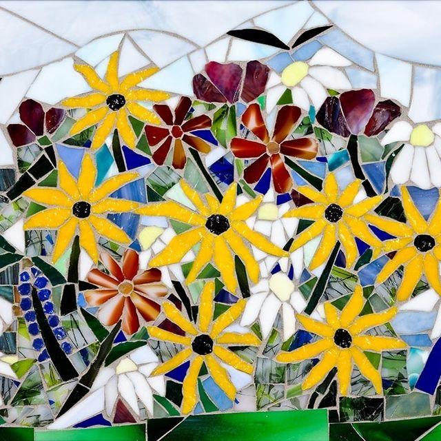 Hand Made Mosaic Wall Art by Tina Shoys, Mosaic Artist | CustomMade.com