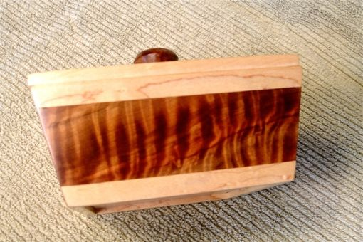Custom Made Sugi Pine And Maple Box