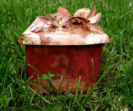 Custom Made Copper Boxes And Baskets