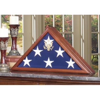 Custom Made Sergeant Flag Display Case