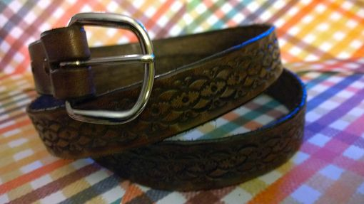 Custom Made Hand Made Belts