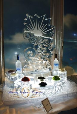 Custom Made Seafood Display Ice Sculptures