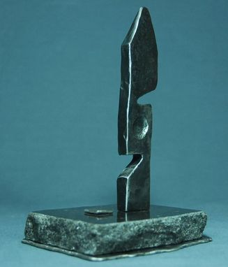 Custom Made Blacksmith Style Small Sculpture