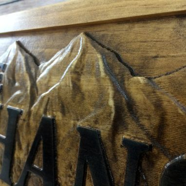 Custom Made Family Names Sign Wood Cabin Sign Rustic Cabin Decor Man Cave Sign Camper Sign Lake House Décor