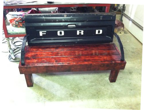Custom Made Tail Gate Bench
