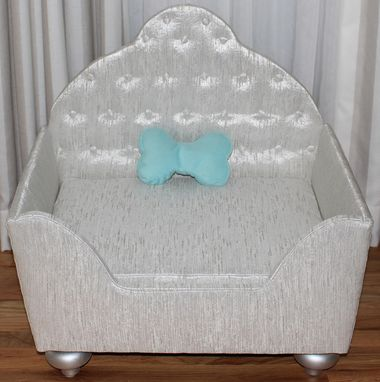 Custom Made Custom Upholstered High End Pet Bed