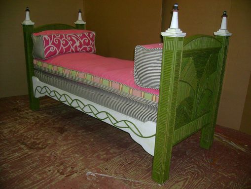 Custom Made Inlaid Daybed
