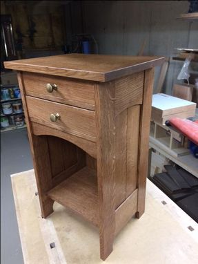 Custom Made Arts And Crafts Nightstand