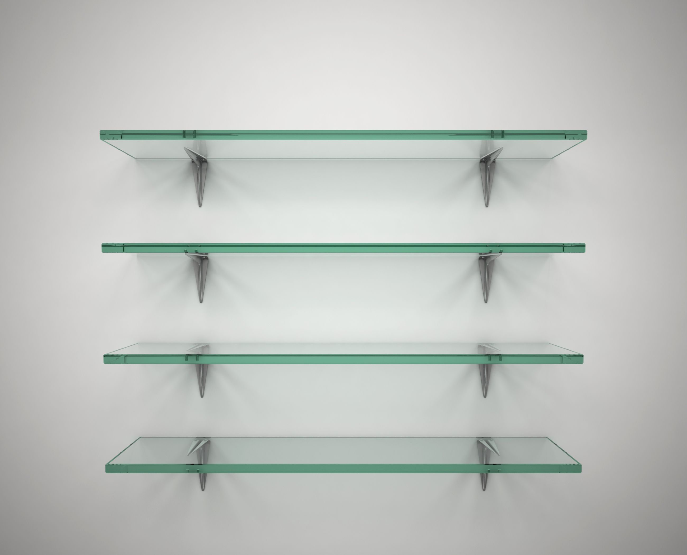 Handmade Glass Shelves By Knock On Glass