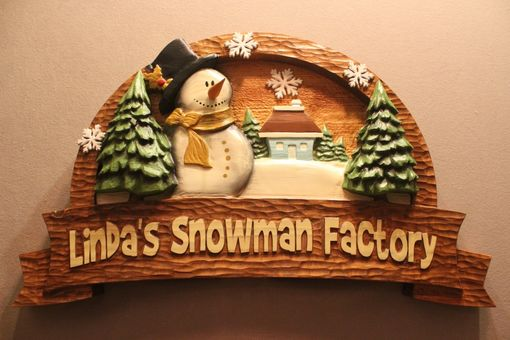 Custom Made Snowman Signs | Santa Signs | Christmas Signs | Santa Clause Signs | Holiday Signs
