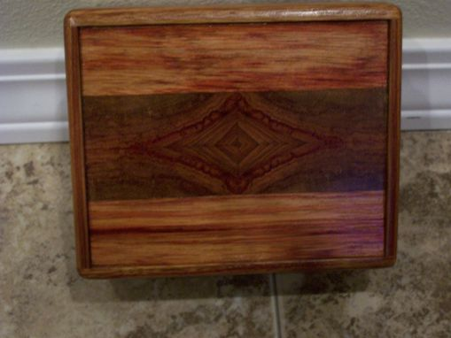 Custom Made Jewelry Box Of Canary Wood