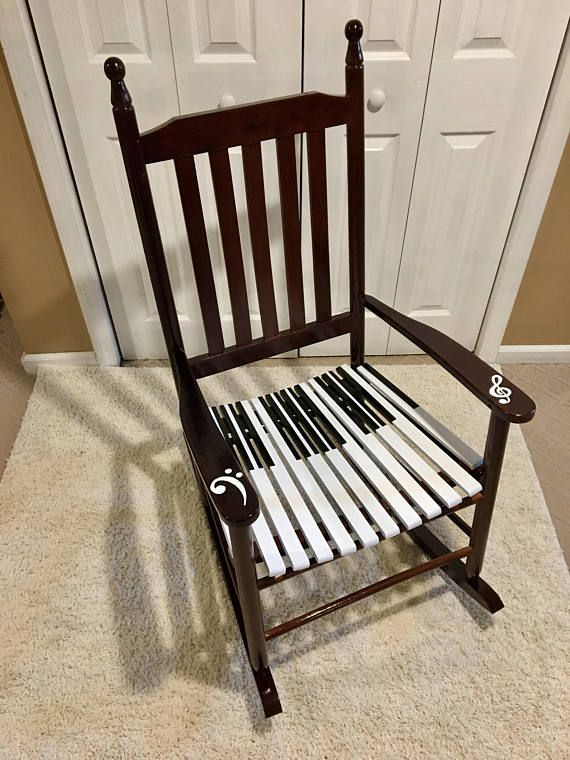 Buy A Hand Crafted Whimsical Painted Rocking Chair Piano